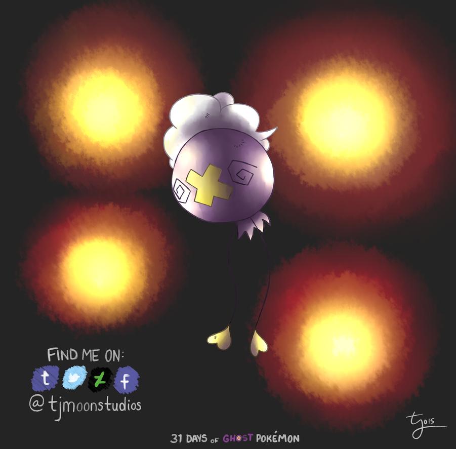 Day 4: Drifloon - 31 Days of Ghost Pokemon by tjmoonstudios