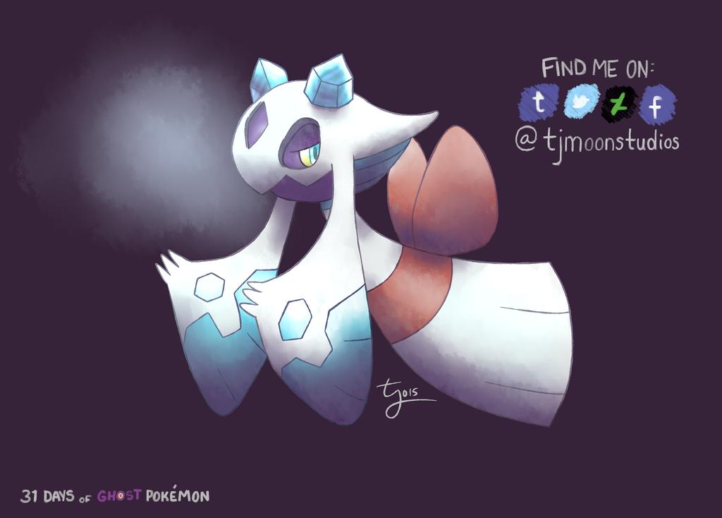 Day 5: Froslass - 31 Days of Ghost Pokemon by tjmoonstudios
