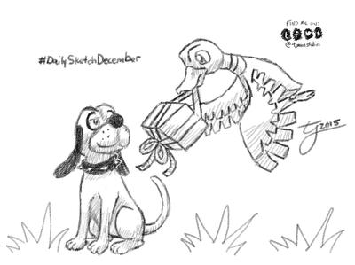 DailySketchDecember Day 3: Duck Hunt Duo by tjmoonstudios