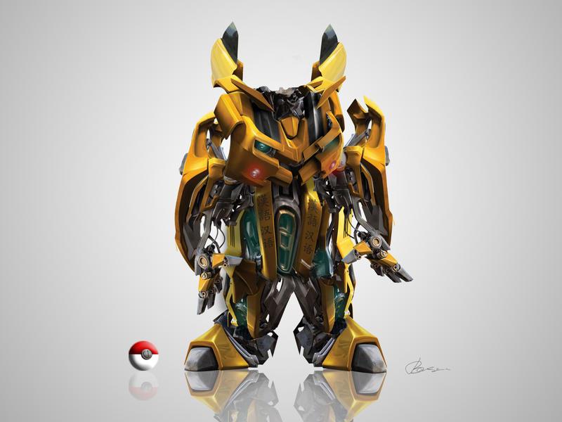 Pika robot V by choniq
