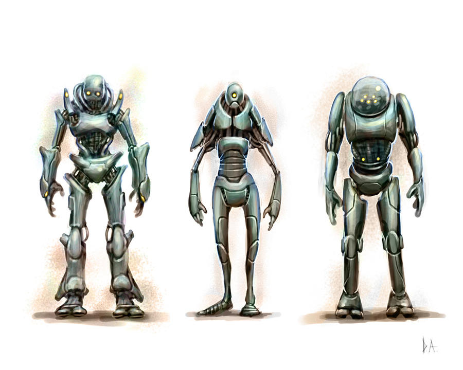 Robot Concepts by ProjectHybrid