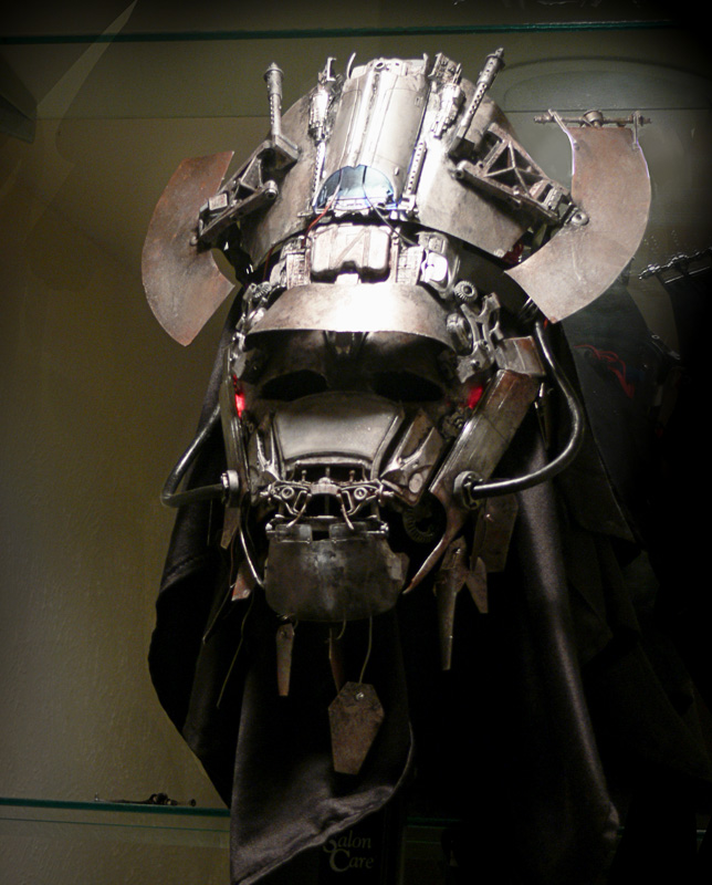 Mecha Samurai Mask by ProjectHybrid