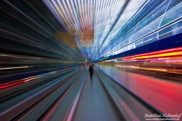 Airport Stream by MatthiasHaltenhof
