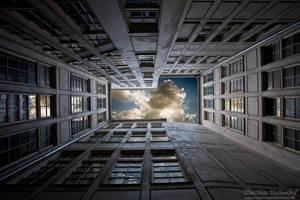 Cloud Launching Pad by MatthiasHaltenhof