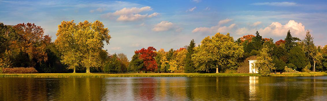 Woerlitz Autumn Panorama by MatthiasHaltenhof