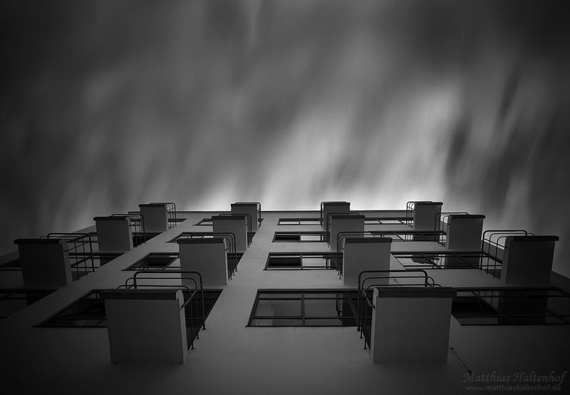 Bauhaus Sky by MatthiasHaltenhof