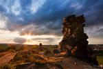 Sunstar at Devils Wall