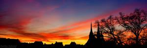 Koethen Skyline Sunset