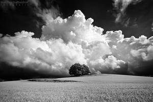 Sky Explosion by MatthiasHaltenhof