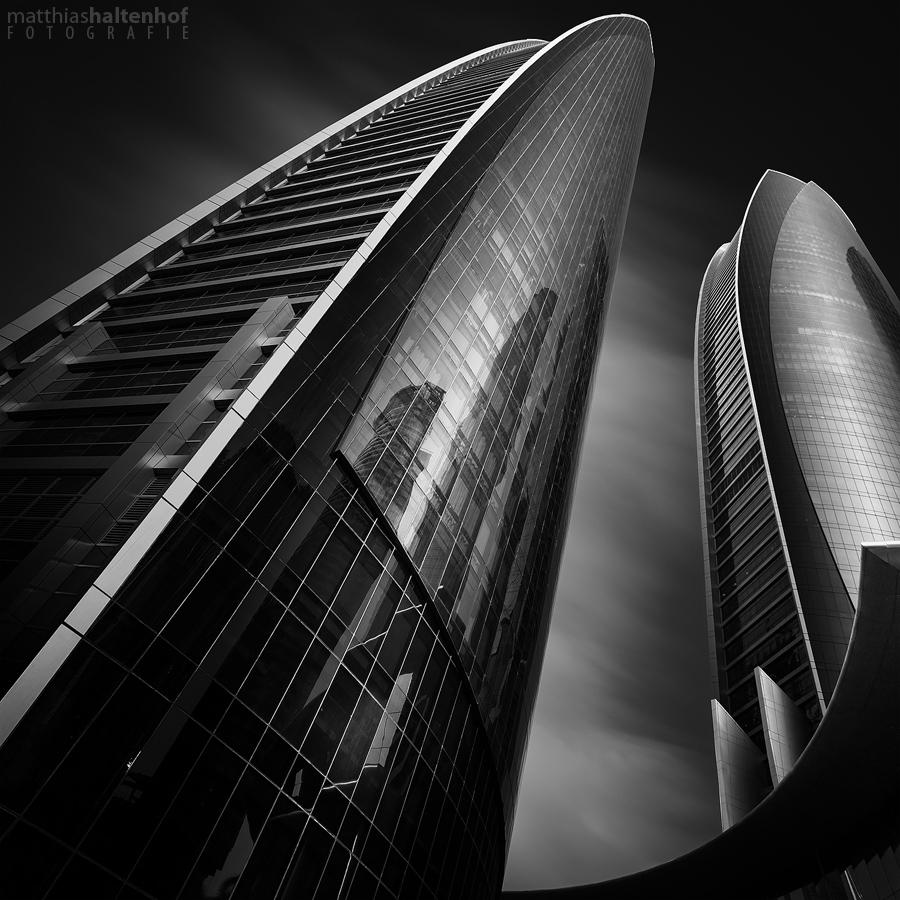 Etihad Towers by MatthiasHaltenhof