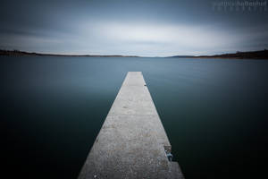 Concrete Blue by MatthiasHaltenhof