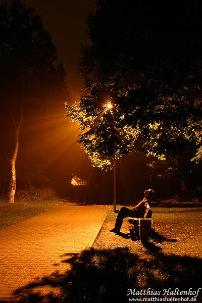 Night Walking by MatthiasHaltenhof