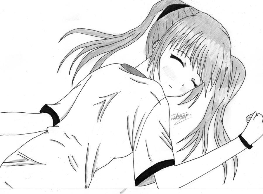 Get Lazy Anime Girl  JPG