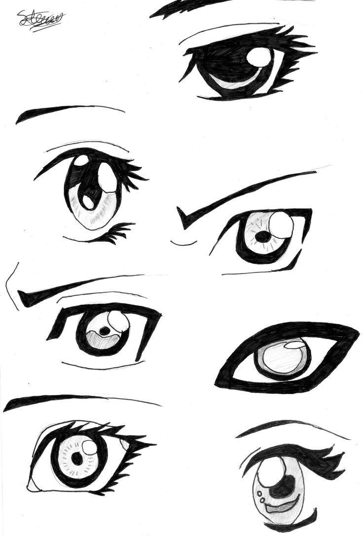 Naruto Eyes By Flashtheteddy