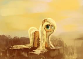 Long hair - Applejack by ScootieBloom