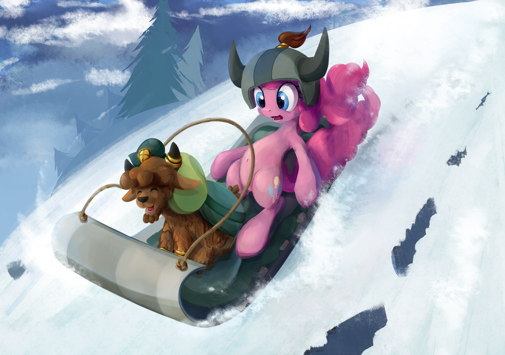 little_yak_and_pinkie_by_scootiebloom-d8