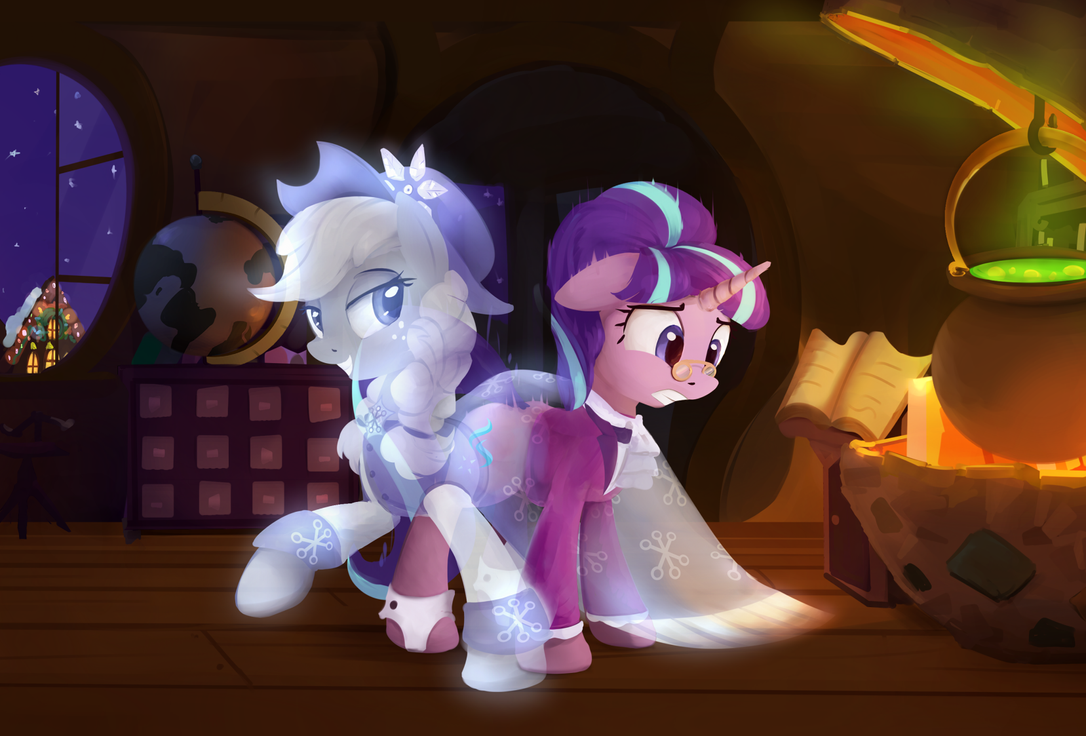 Ghostly touch by ScootieBloom