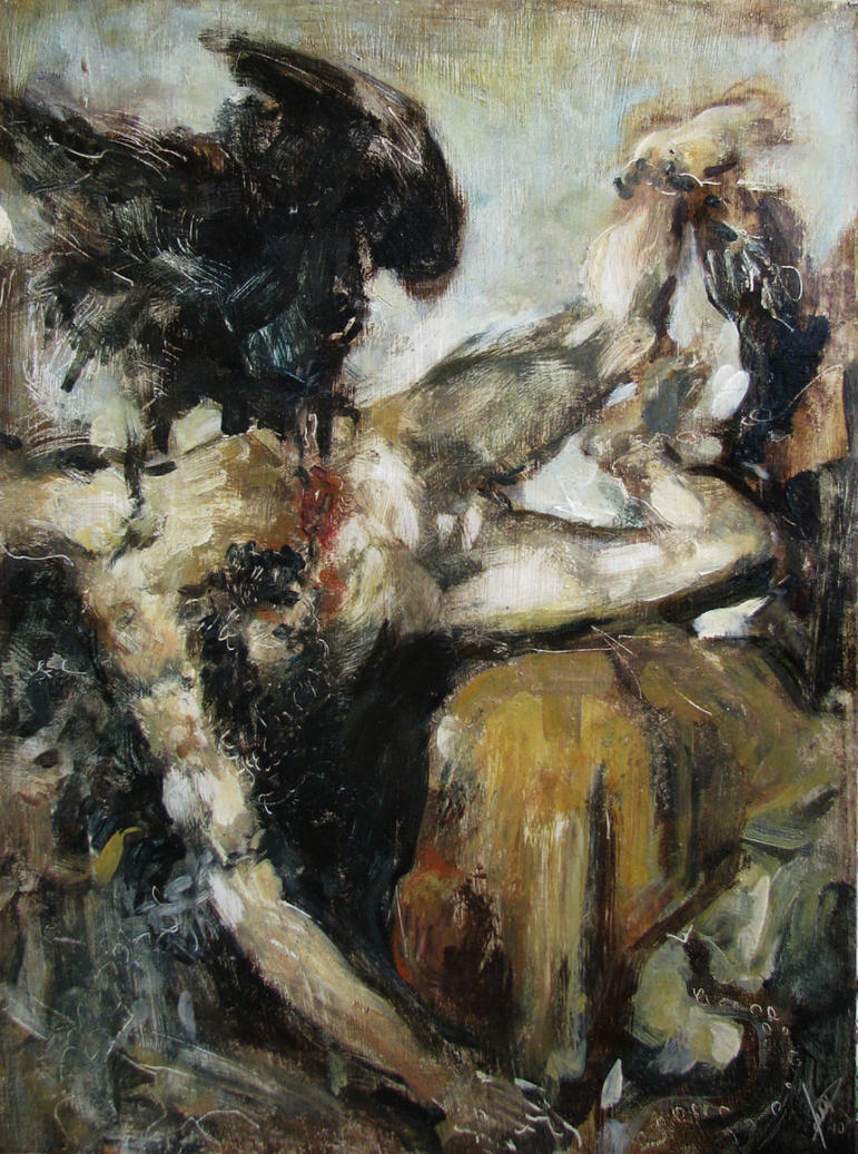 Titian's Prometheus by Deino