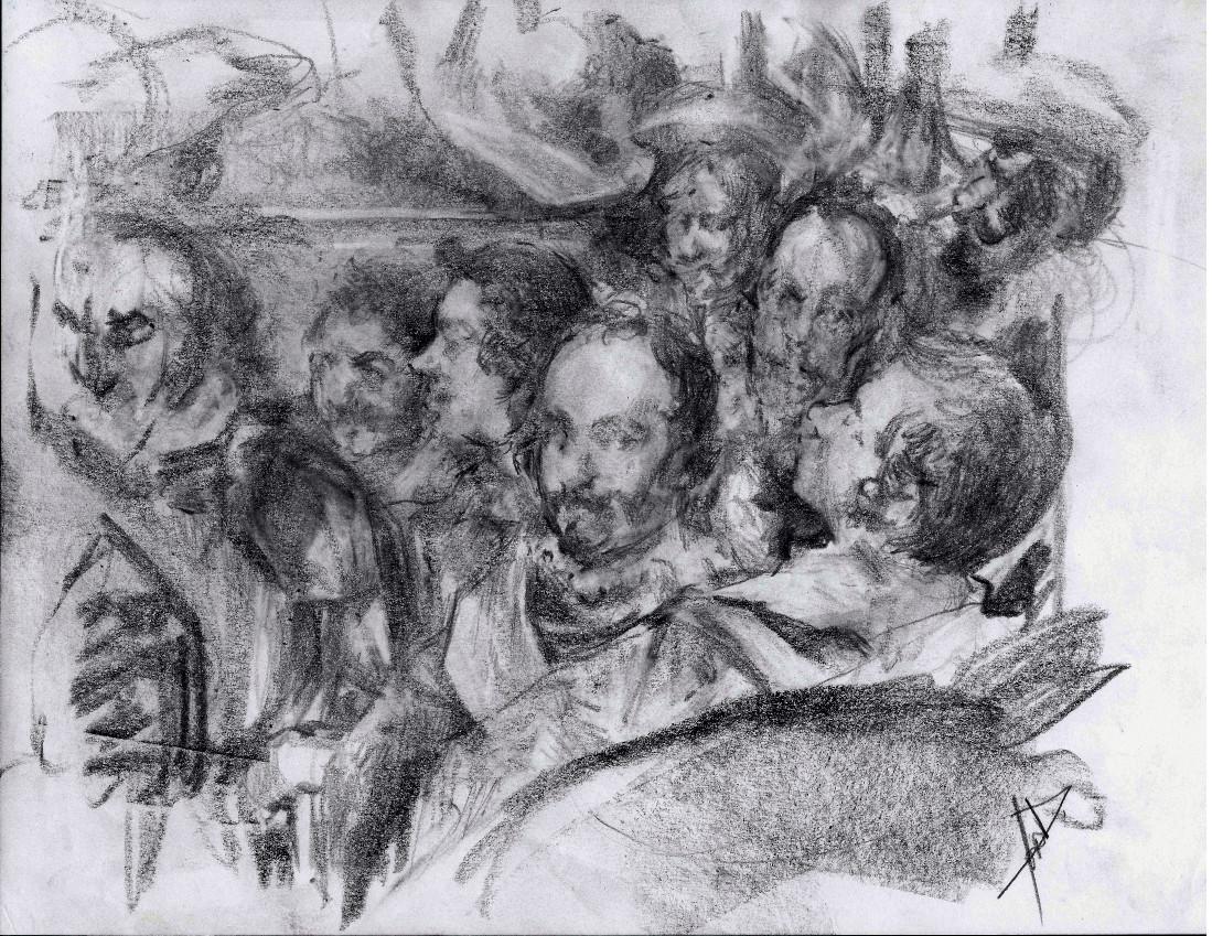 Velazques study by Deino