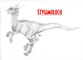Finished Stygimoloch by Deino