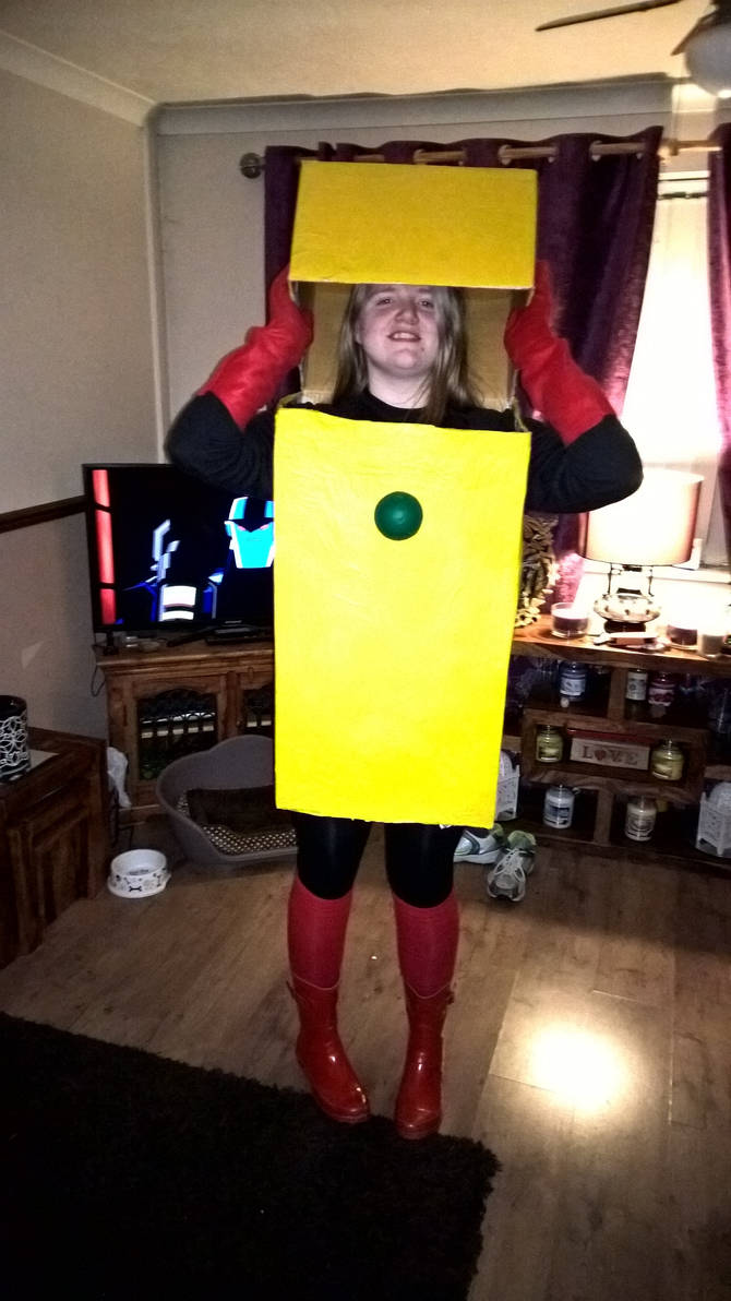 Cosplay Heatman Outfit