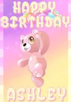 Happy Birthday - AshleyxBrooke - by Sythnet