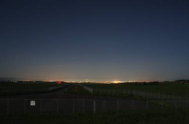 sleeping airfield by kuroihikari