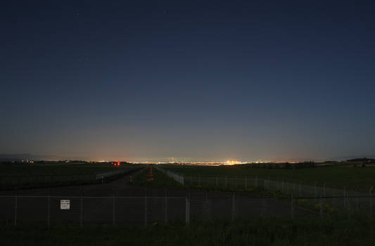 sleeping airfield