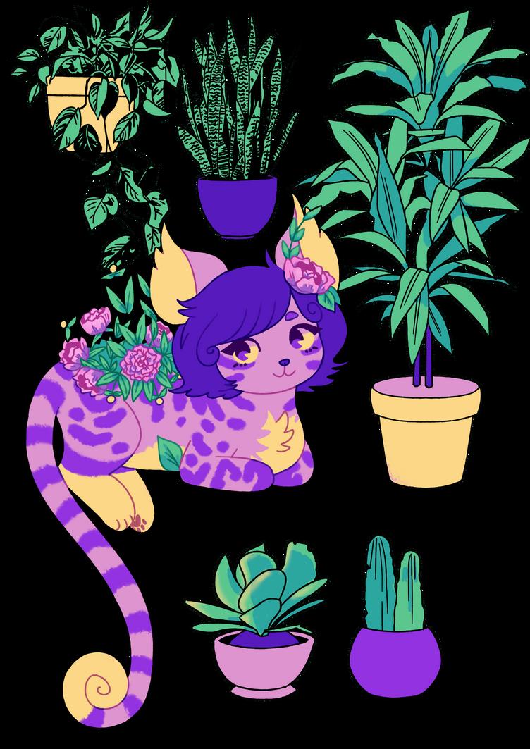 plants study by leaffkun