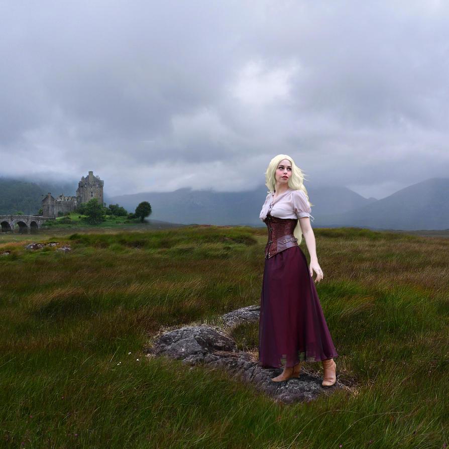 Lady Donnan of Eilean Donan by Slimdandy