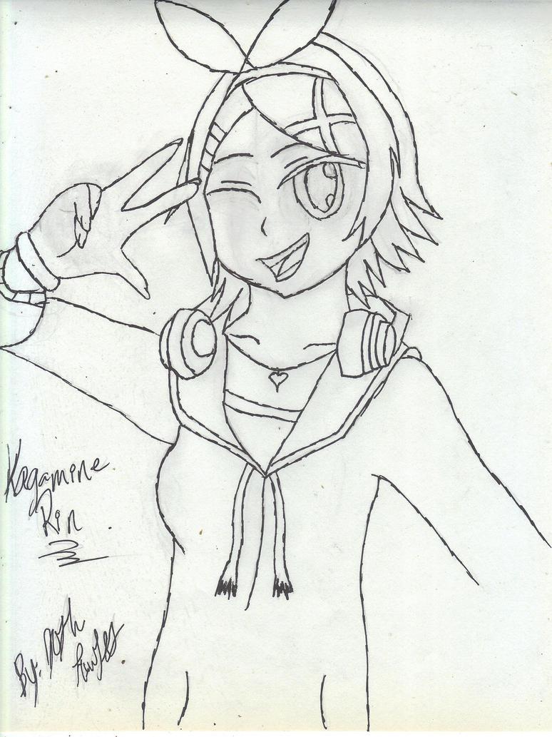 Kagamine Rin by scoobky