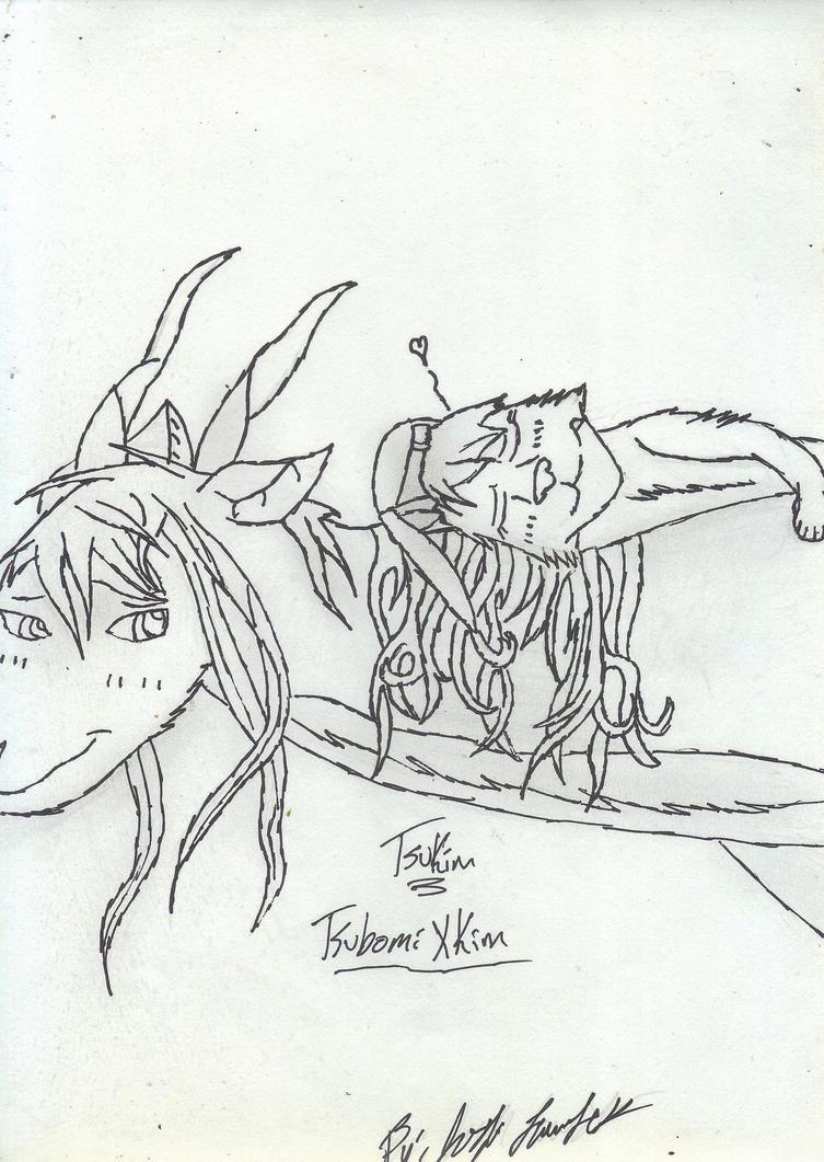 TsuKim (TsubomiXKim) by scoobky