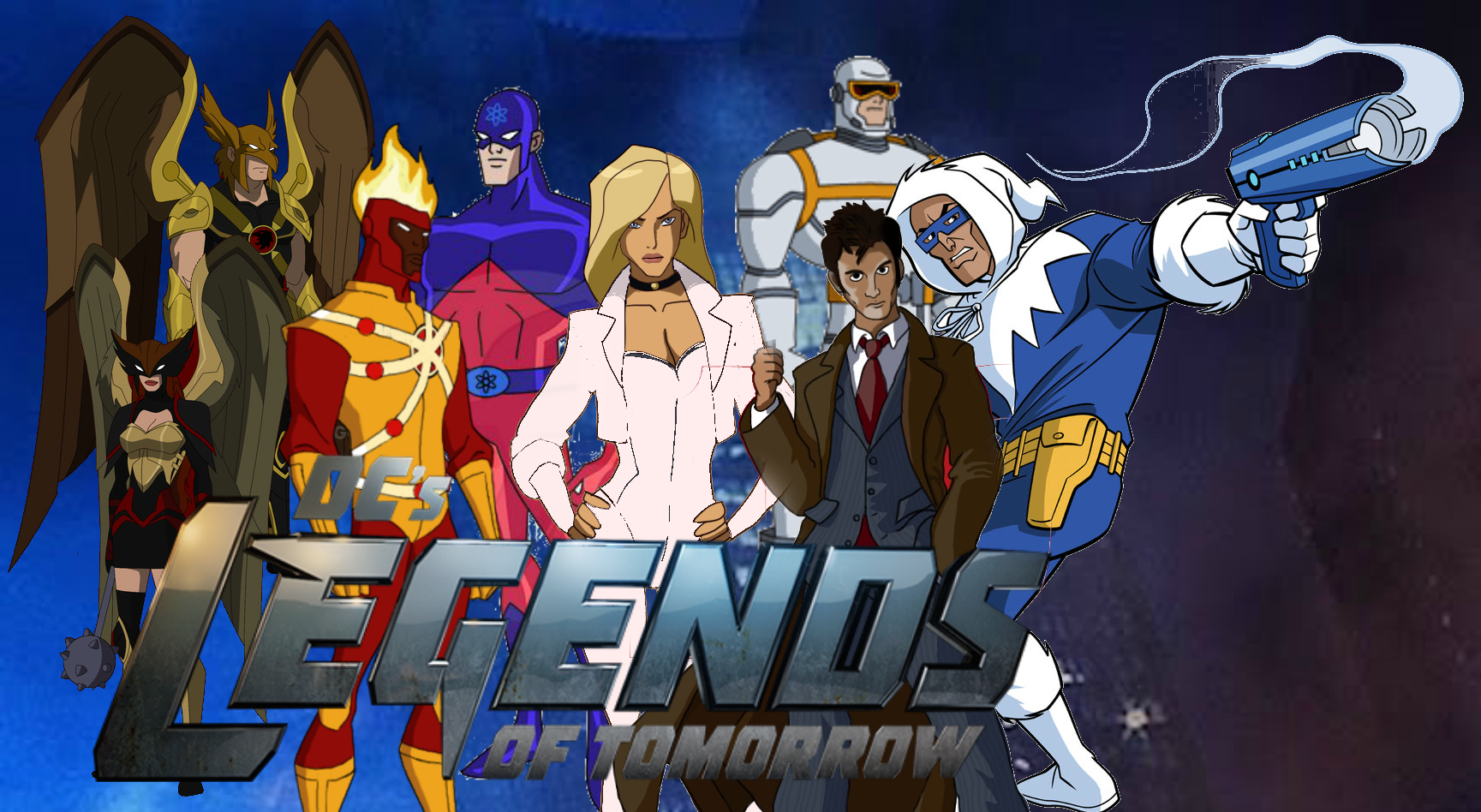 Dc S Legends Of Tomorrow Animated Version By Superherotimefan On
