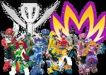 Mysticons / Gokaiger Crossover by SuperHeroTimeFan