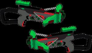 Artemis's Twin Bowcasters