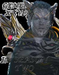 General Xaviax - Armored Form in Season 2 by SuperHeroTimeFan