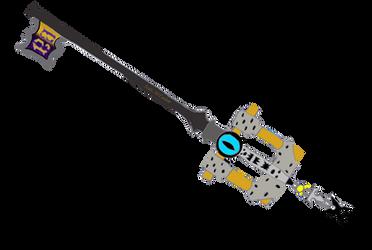 Legacy Prodigy Keyblade by SuperHeroTimeFan