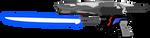 Saber Rifle by SuperHeroTimeFan