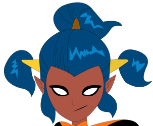 Mysticons - Concept Piper (No Mask) by SuperHeroTimeFan
