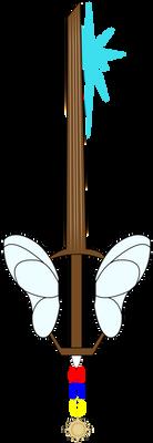 Wooden Heart Keyblade