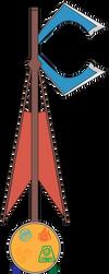 Balance of Four Custom Keyblade by SuperHeroTimeFan