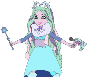 Crystal Winter - The Nobody of Ever After High by SuperHeroTimeFan