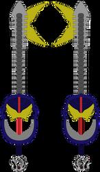 Drift Compatible Custom Keyblades by SuperHeroTimeFan