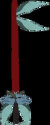 Roar of Saphira Custom Keyblade by SuperHeroTimeFan