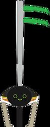Robo Rebel Custom Keyblade by SuperHeroTimeFan