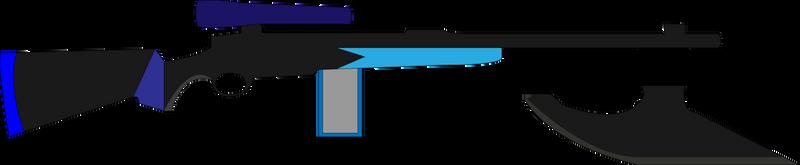 Dexter's Plasma Rifle Axe by SuperHeroTimeFan