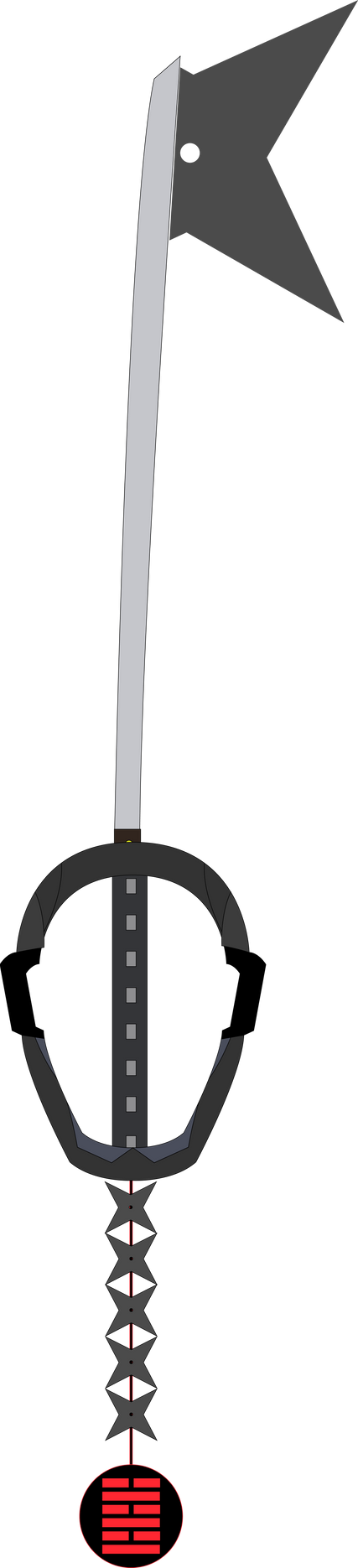 Arashikage Seibai Custom Keyblade