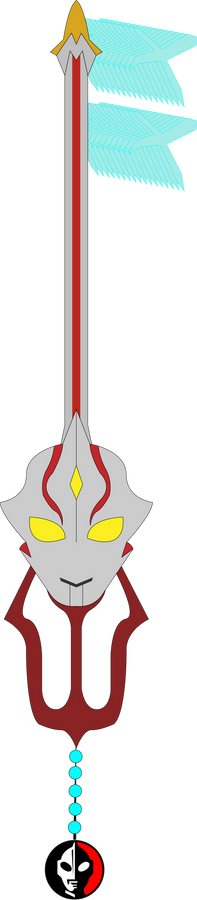 Ultra Heart Custom Keyblade