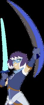 Zarya Dual-Wielding Swords (Mask)