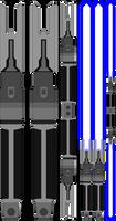 Cal Kestis Lightsaber (My Next 3D Design)